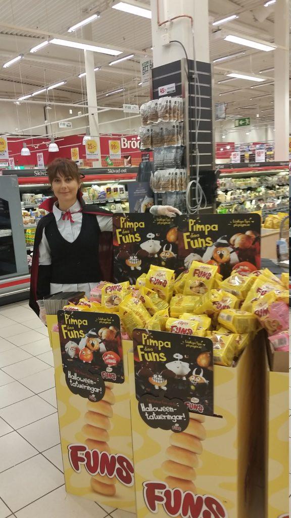 Halloween event med Pågen